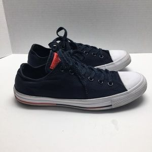 Converse Mens Sz/8 All Star Navy Sneakers